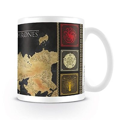 Tazza - Game Of Thrones - Map