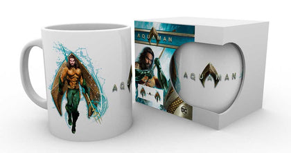 Tazza - Aquaman. -Dc Comics - Aquaman Pose