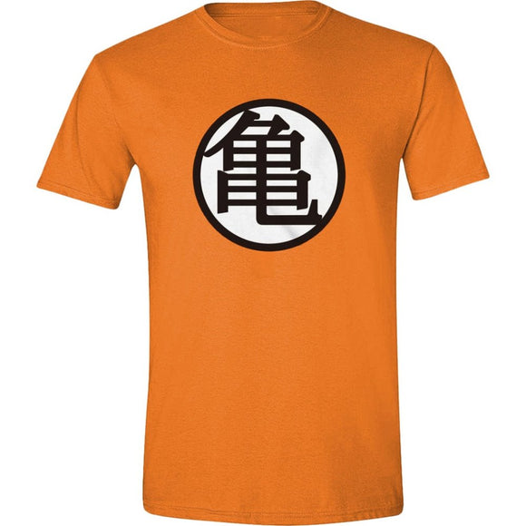 T-Shirt - Dragon Ball Z - Goku Kanji Orange
