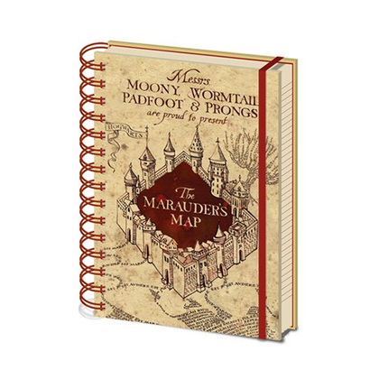 Quaderno - Harry Potter - The Marauders Map (A5)
