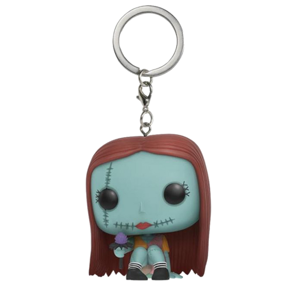 PORTACHIAVI - FUNKO POP - NIGHTMARE BEFORE CHRISTMAS - SALLY (SEATED)