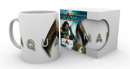 Tazza - Aquaman - Dc Comics - Aquaman - Logo