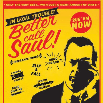 Poster - Breaking Bad - Better Call Saul - Attorney At Law