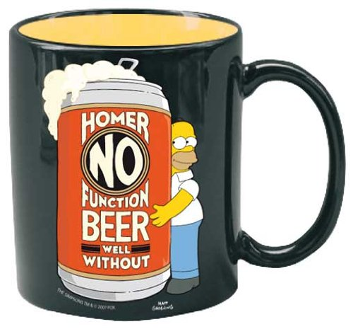 Tazza - Simpsons - Homer No Function