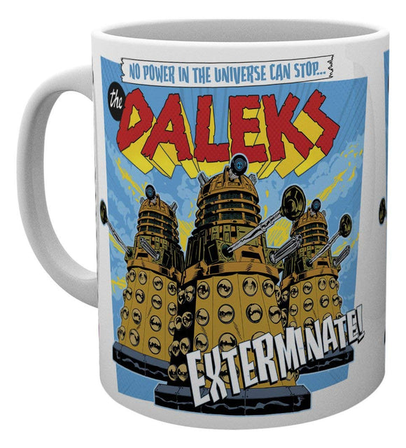 Tazza - Doctor Who - Daleks