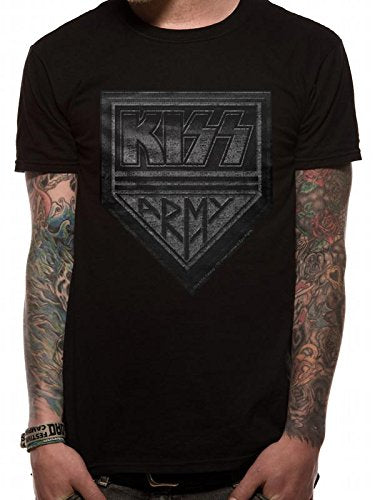 T-Shirt - Kiss - Army Distressed