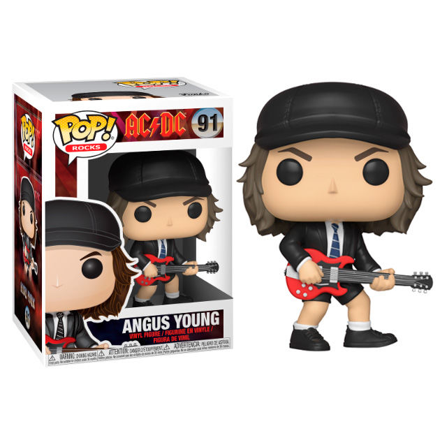 FUNKO POP - ROCKS AC/DC - 91 ANGUS YOUNG 9CM