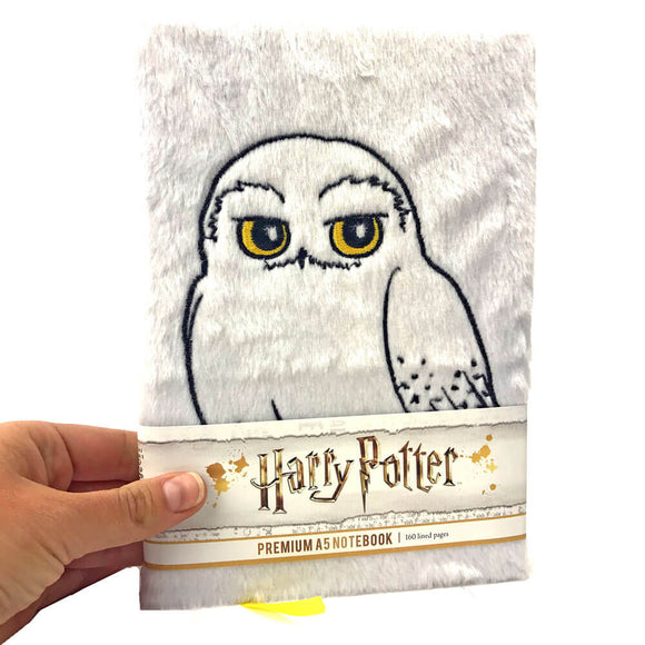 Quaderno - Harry Potter (Hedwig) Fluffy (A5)