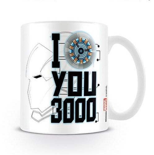 Tazza - Avengers - Endgame - I Love You 3000