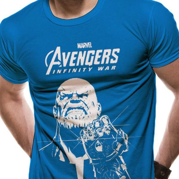 T-Shirt - Marvel - Avengers Infinity War - Blue Thanos