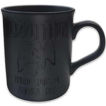 Tazza - Led Zeppelin - Boxed Black Matt - 77 Tour