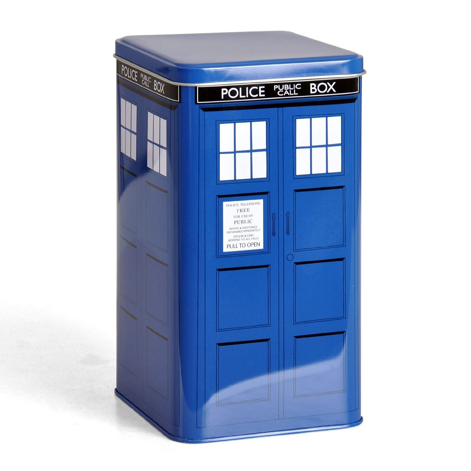 Barattolo - Doctor Who - Tardis