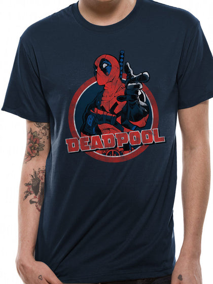 T-Shirt - Deadpool - Logo Point