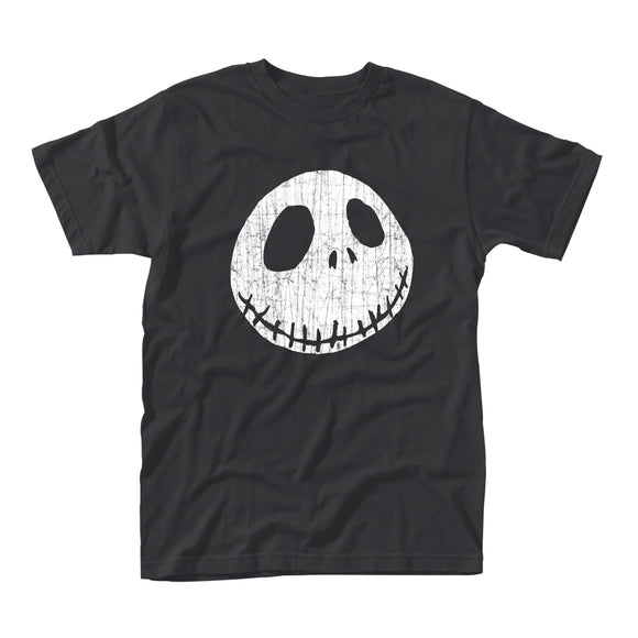 T-Shirt - Nightmare Before Christmas - Cracked Face