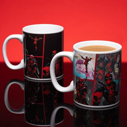 Tazza Termosensibile - Marvel - Deadpool