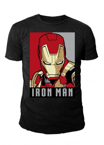 T-Shirt - Iron Man - Obey Style