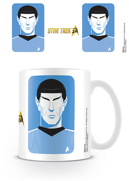 Tazza - Star Trek - Pop Spock - 50Th Anniversary