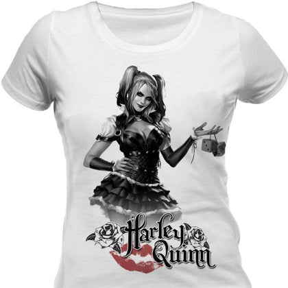T-Shirt - Batman - Arkham Knight - Harley Quinn (Donna)