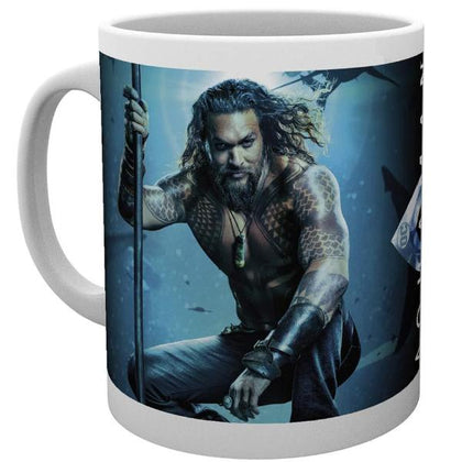 Tazza - Dc Comics - Aquaman - One Sheet
