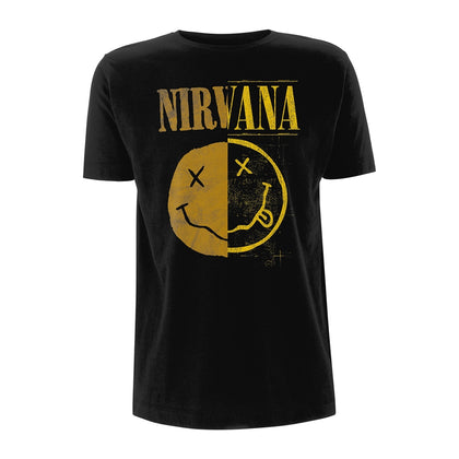 T-Shirt - Nirvana - Spliced Smiley