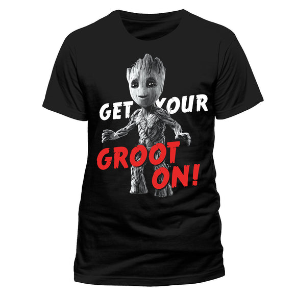 T-Shirt - Guardians Of The Galaxy 2 - Get Your Groot On