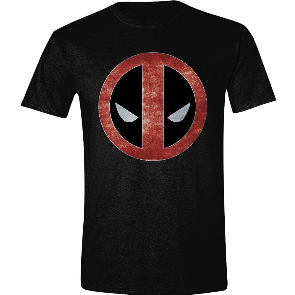 T-Shirt - Deadpool - Foil Logo Black