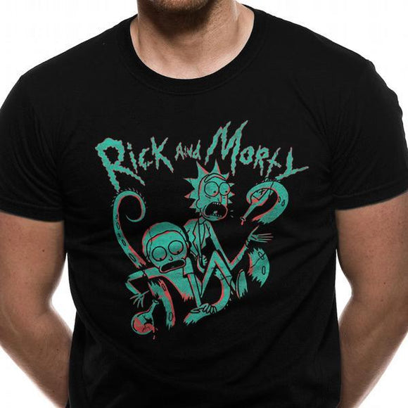 T-Shirt - Rick & Morty - Neon