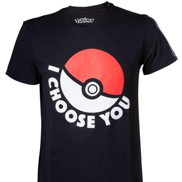 T-Shirt - Pokemon - I Choose You