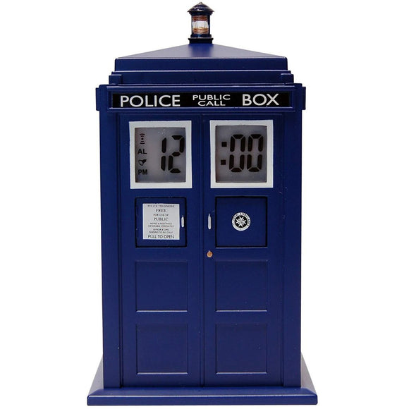 Sveglia - Doctor Who - Alarm Clock with Projector Tardis