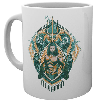 Tazza - Dc Comics - Aquaman - Crest
