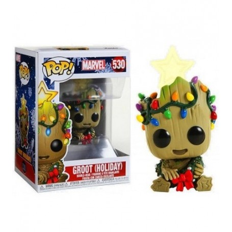 FUNKO POP - MARVEL - GROOT (530) HOLIDAY