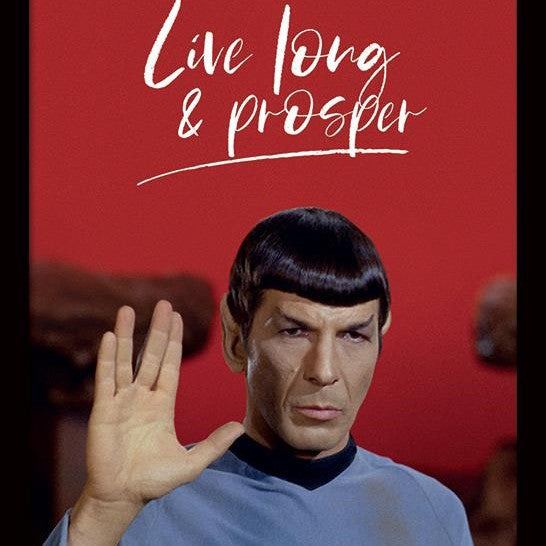 Quadro - Star Trek - Live Long And Prosper