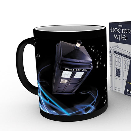 Tazza Termosensibile - Doctor Who - Tardis