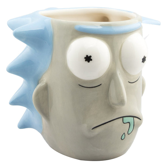 Tazza - Rick And Morty - Rick Sanchez 3D