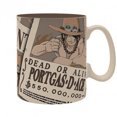 Tazza - One Piece - Mug - 460 Ml - Wanted Ace