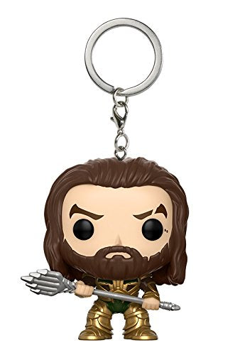 Portachiavi - Funko Pocket Pop - Justice League - Aquaman