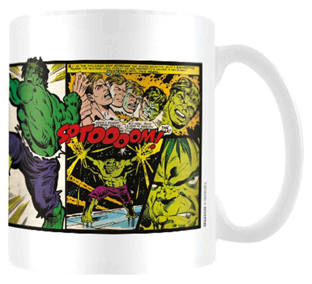 Tazza - Marvel - Retro - Hulk Panels