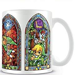 Tazza - Nintendo - Legend Of Zelda - Stained Glass