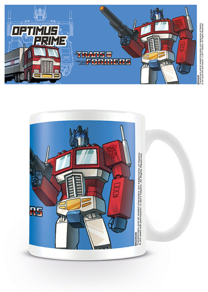 Tazza - Transformers - G1 - Optimus Prime