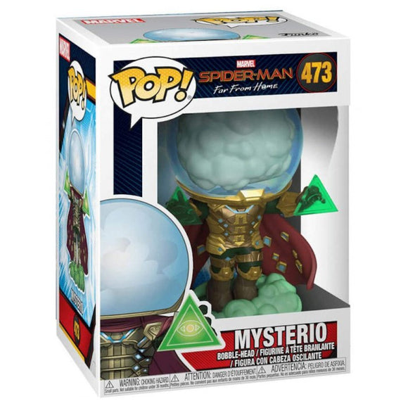 FUNKO POP - SPIDER-MAN - FAR FROM HOME -  473 MYSTERIO