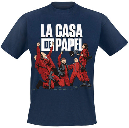 T-SHIRT - LA CASA DE PAPEL - CELEBRATING