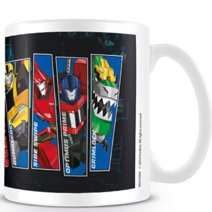 Tazza - Transformers - Robots In Disguise - Character Strips