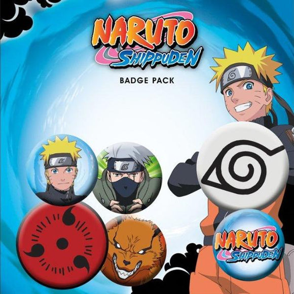 Spille - Naruto Shippuden - Mix (Badge Pack)