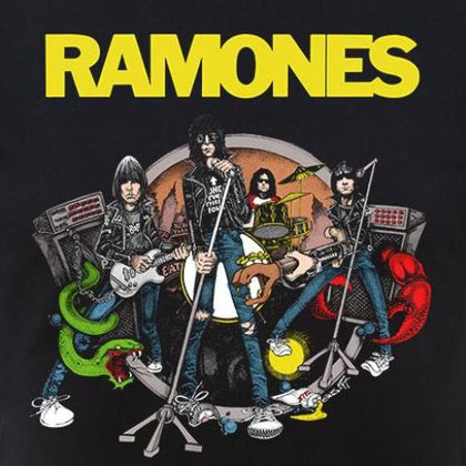 T-Shirt - Ramones - Road To Ruin