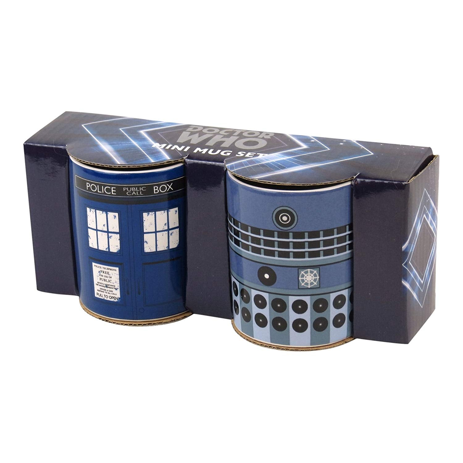 Tazza Mini - Doctor Who - Tardis & Dalek