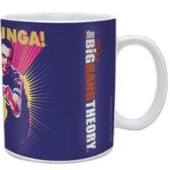 Tazza - Big Bang Theory - Bazinga Purple