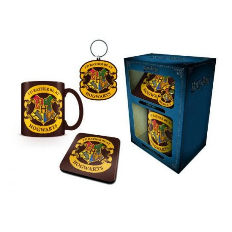 Tazza - Harry Potter - Rather Be At Hogwarts - Gift Set