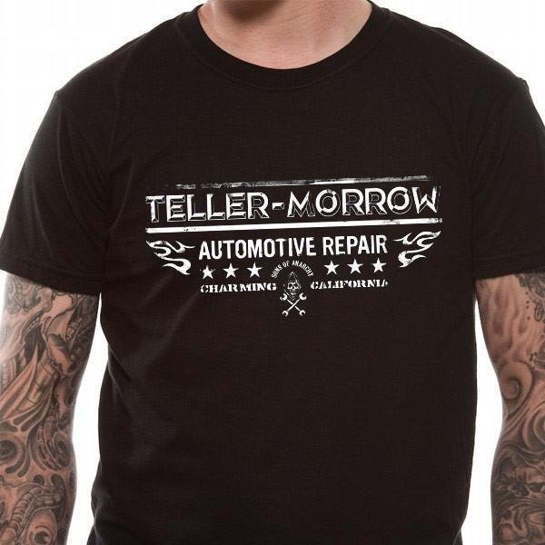 T-Shirt - Sons Of Anarchy - Tellor Morrow