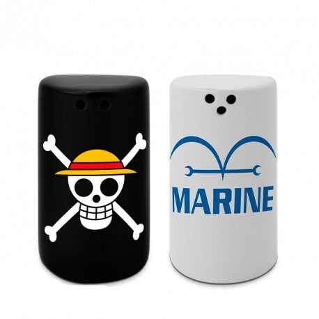 Accessori Cucina - One Piece - Skull & Marine (Set Sale E Pepe)