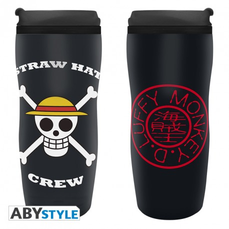 Tazza da viaggio - One Piece - Travel Mug - Luffy
